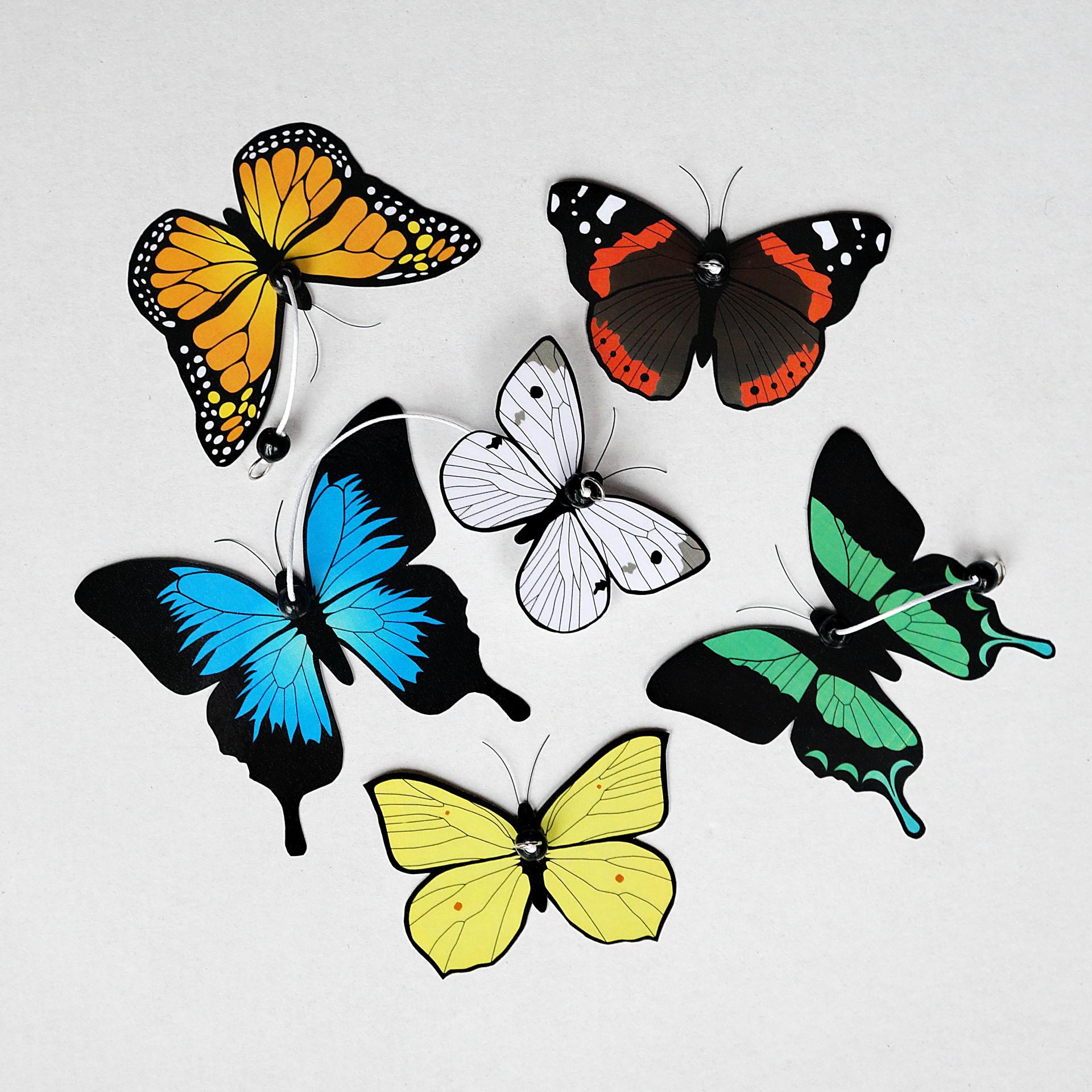 Zawieszki Motyle do karuzeli wymiennej - Little DOT