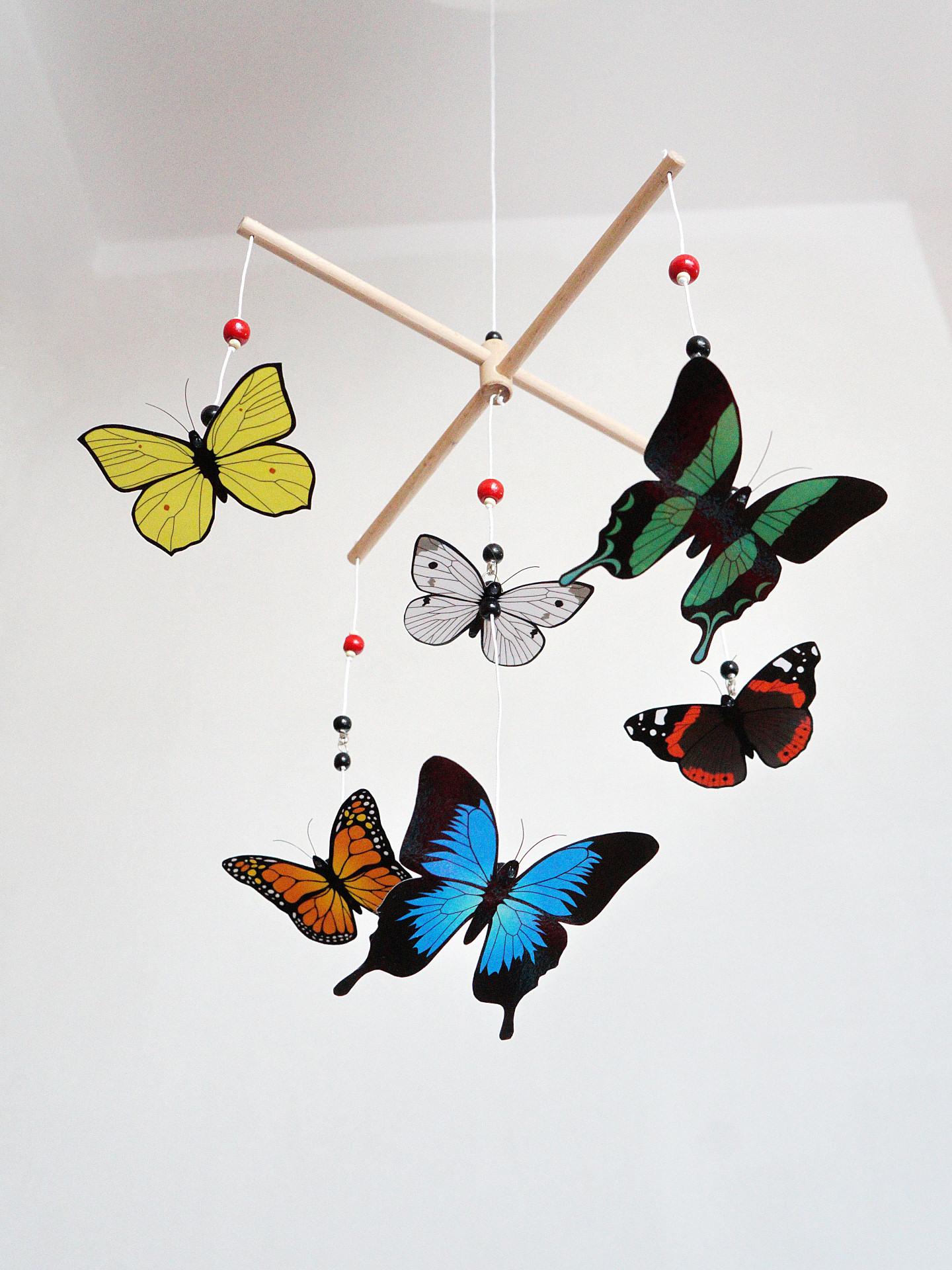Karuzela wymienna Motyle