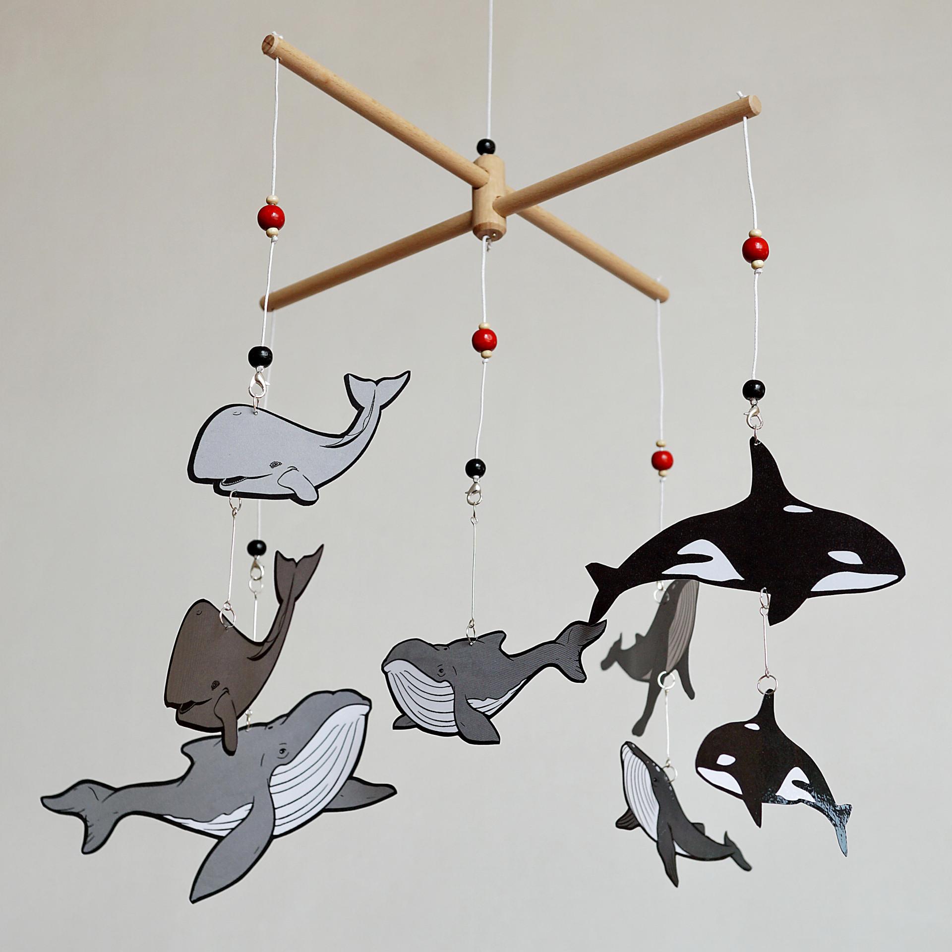 Karuzela wymienna Wieloryby