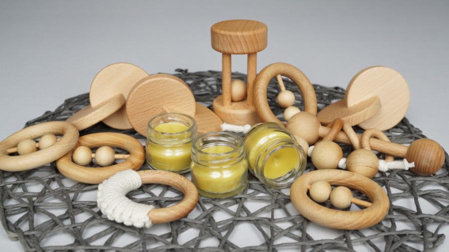 Pielęgnacja iczyszczenie drewnianych zabawek